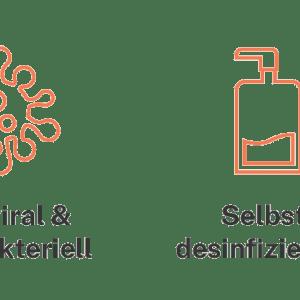 SHIELDEX® Kupfer Tape - Schutz für Türgriffe und Griffflächen vor Viren - antiviral, antibakteriell Corona Virus ABM Handelsagentur Solutions GmbH