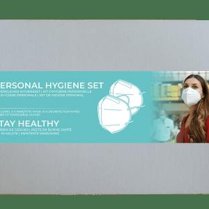 ABM Solutions Hygieneset persönlich Safety Sicherheit Reisen Arbeit Urlaub holidays Flughafen Bahnhof Auto Taxi FFP2 Maske Handschuhe Einweg Desinfektion