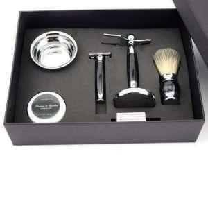 Geschenk Geschenkset Herren Männer Rasur Hygiene Rasierset Pflege Bart Bartwuchs