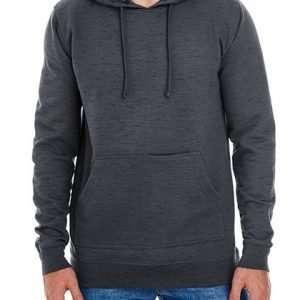 Cropped Fleece Damenhoodie ABM Solutions GmbH Herren Hoodie Fleece Man Fleecehoodie Heather Charcoal