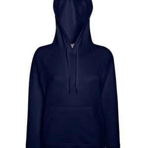 leichter Damenhoodie ABM Solutions GmbH Fleece OEKO-TEX WRAP Trockner geeignet Pullover Design Style Deep Navy