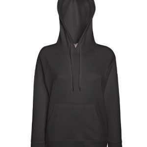leichter Damenhoodie ABM Solutions GmbH Fleece OEKO-TEX WRAP Trockner geeignet Pullover Design Style Graphite