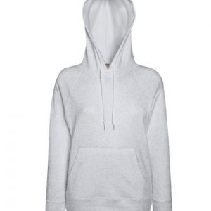 leichter Damenhoodie ABM Solutions GmbH Fleece OEKO-TEX WRAP Trockner geeignet Pullover Design Style Grau