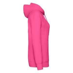leichter Damenhoodie ABM Solutions GmbH Fleece OEKO-TEX WRAP Trockner geeignet Pullover Design Style