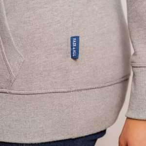 Unisex Sweat Hoody OEKO-TEX Mehrfarbig Blau Grau Rot Schwarz
