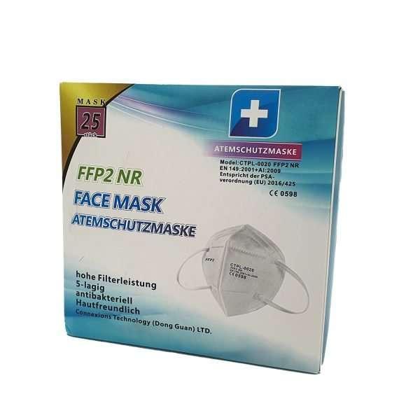 ABMhandelsagentur FFP2 Masken Corona Viren Virus ABM Solutions GmbH Kadi-001 FFP2 NR Maske Sicherheit hochwertig Corona Starbuss Günstig CTPL-0020 FFP2 Maske NR