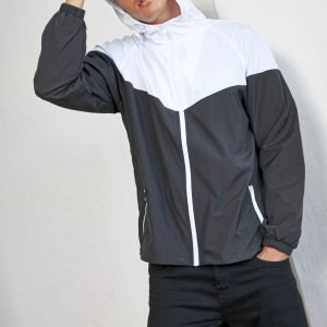 ABM Solutions GmbH Kleidung Sport Fitness Regen Wind Jacke Übergangsjacke Übergang