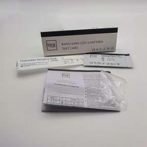 ABM Solutions GmbH Xiamen Boson Biotech Co., Ltd Laientest Corona Schnelltest Sonderzulassung BfArM 5640-S-007/21 AT116/20 zu Hause Anwendung Corona Schnelltest mit Laienzulassung