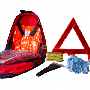 KFZ Notfall Pannen Kit All in One Kit Langstrecke Auto Unfall Panne Eiskratzer Abschleppen Seil Warndreieck Weste Überbrückungskabel