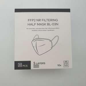 BLNK Trekstor FFP2 Masken Corona Schutz FFP2 Mask NR Filtration Filtering PM2.5 hypoallergen hypoallergenic Halbmaske Half Mask BL-03N BLNK