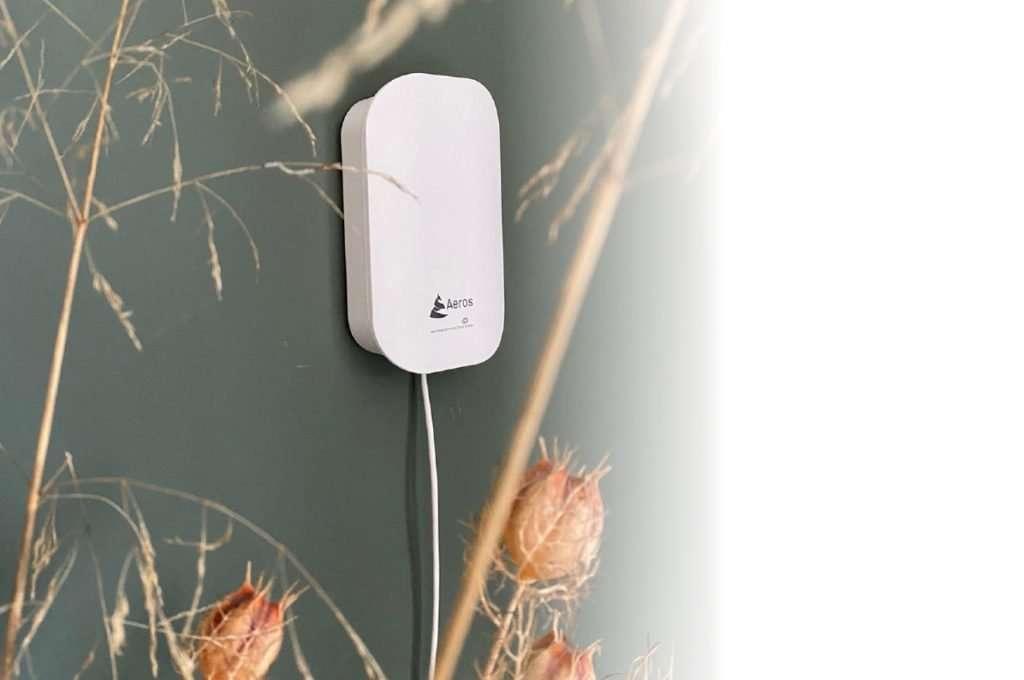 Smart Device zur Überwachung der Luftqualität. Überwachen Sie mehrere Geräte aus unterschiedlichen Räumen in einer App CO², TVOC, Feinstaub, Luftfeuchtigkeit und die Temperatur.